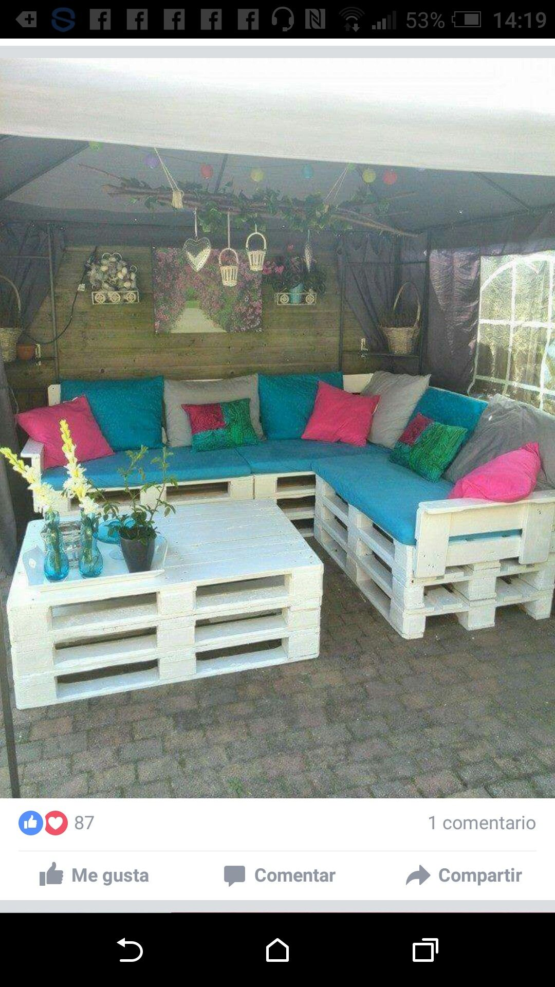 Sofa De Pallet Quintal Pin De Joa Pastrana Em Mechas Pallet Furniture Diy Pallet Couch