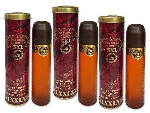 Diamond Parfums Lot de 3flacons Cuba XXL, Homme, parfum, Diamond Parfums Eau De Toilette pour hommesfor Men: Tweet Cuba XXL–Diamond…