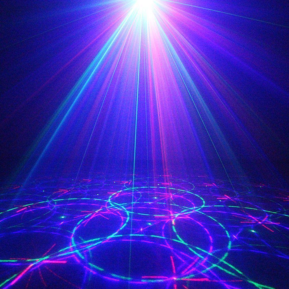 Upkj Mini Laser Dj Lights 3 Lens 12 Gobos Rgb
