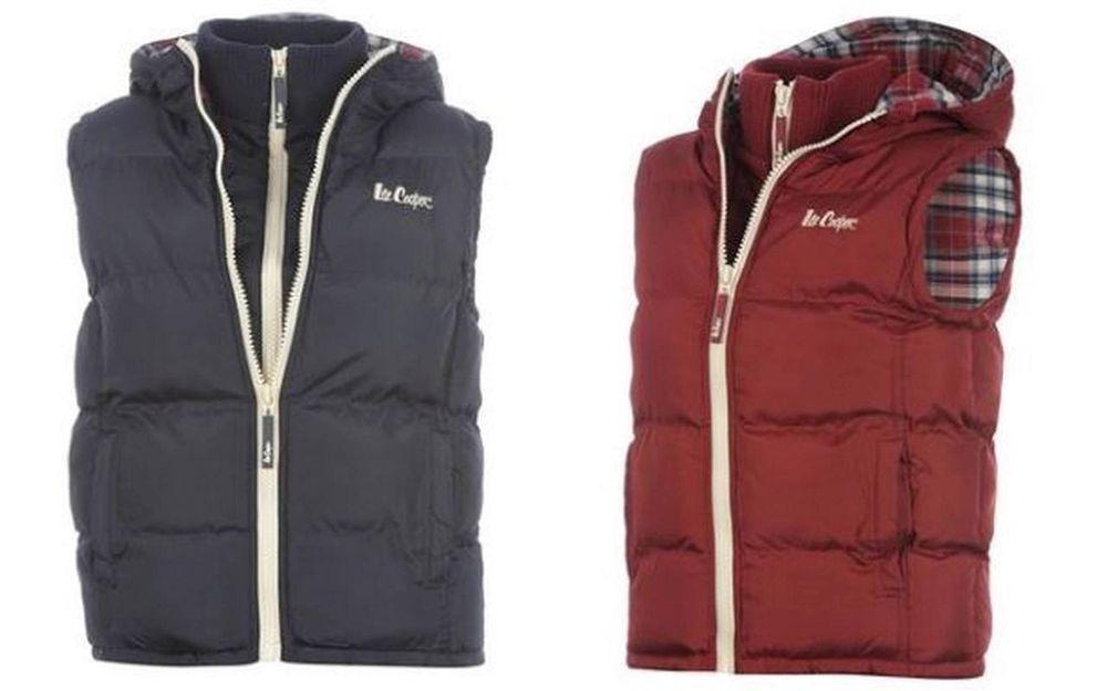 Lee Cooper 2 Zip Gilet Ladies Jacket Bodywarmer. All sizes 6-22 1b516df042f