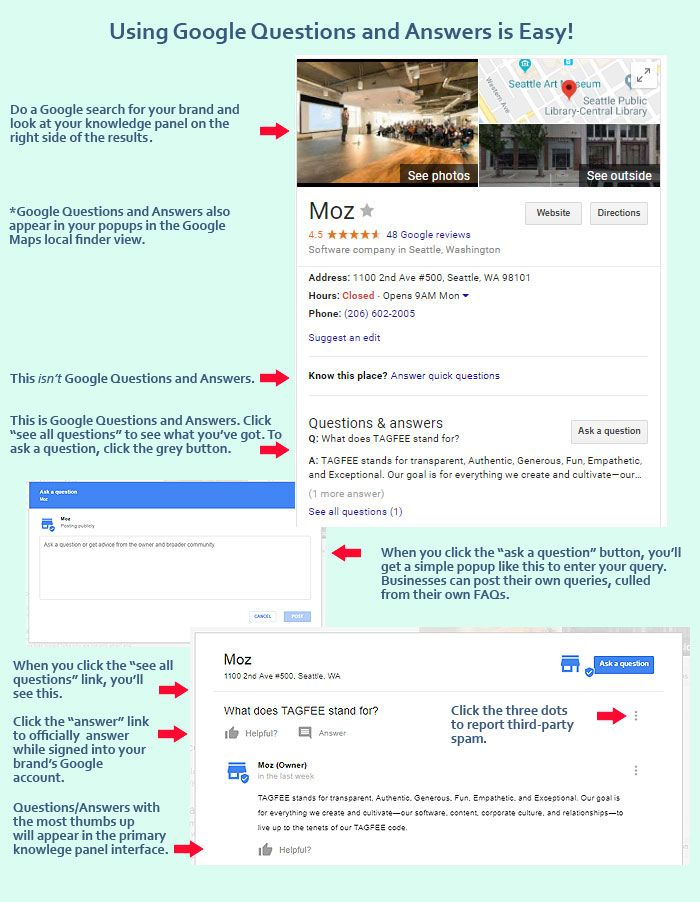 """How Is Google's New """"Questions and Answers"""" Feature Being Used? [Case Study]"""