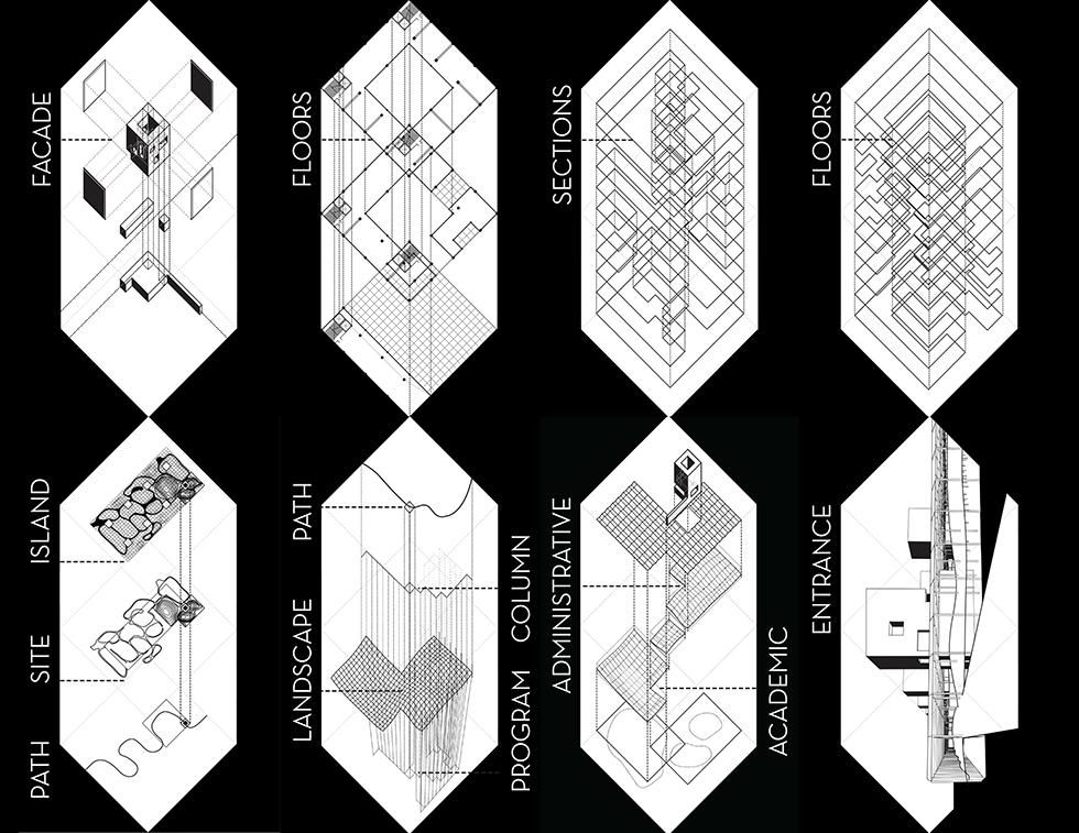 Roosevelt Island Tech Campus Diagrams By Joseph Kennedy Karim Daw