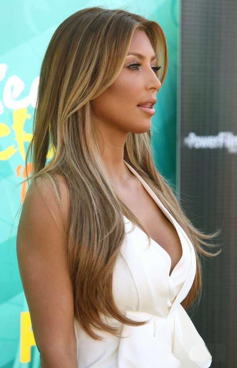 Photos Of Kim Kardashian Blonde Brown Blonde Hair Dark Blonde