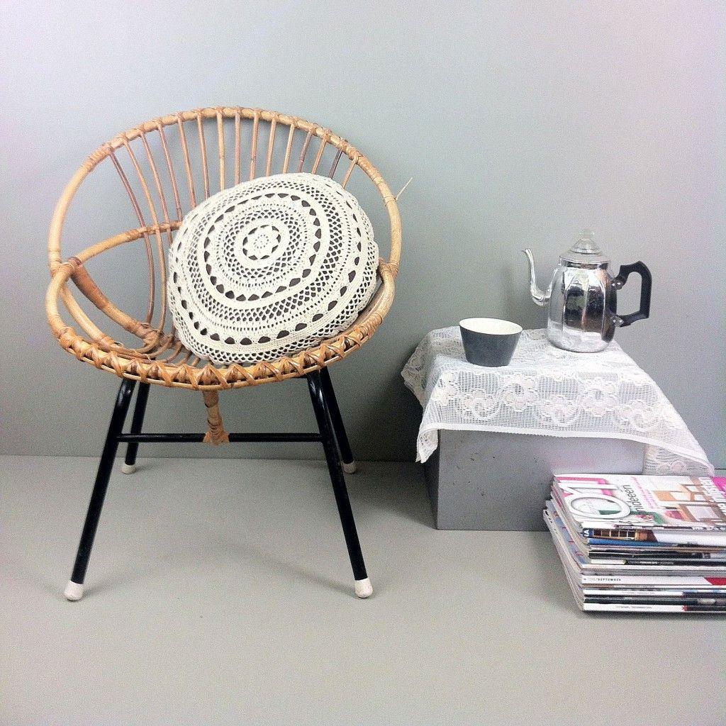 Rieten stoel. Voor in mijn favoriete woonkamer - Woon. | Pinterest ...