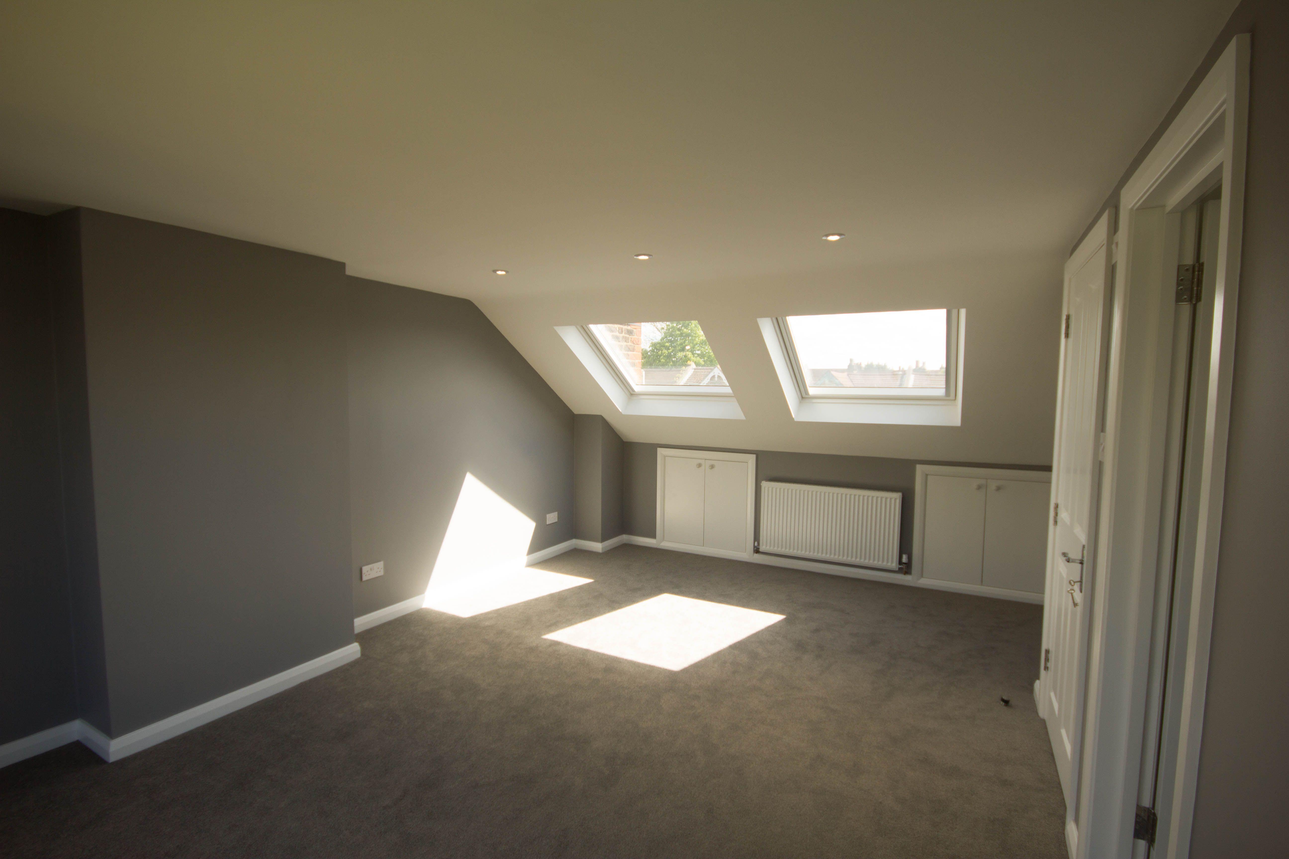 Loft bedroom with ensuite  Lovely loft conversion in Streatham  Loft Conversions  Pinterest