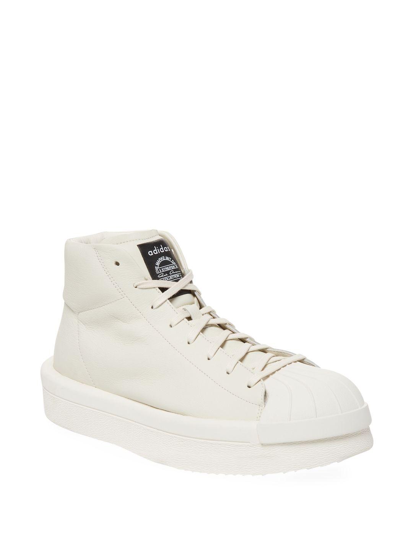 ADIDAS for RICK OWENS MASTODON PRO MODEL II Leather Sneakers Spring/summer Rick Owens I8bIeKKgT
