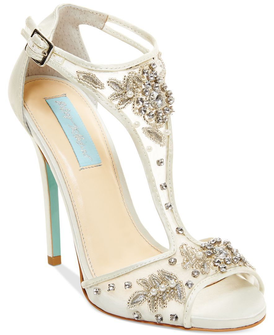 Blue by Betsey Johnson Holly Evening Sandals - Evening & Bridal ...