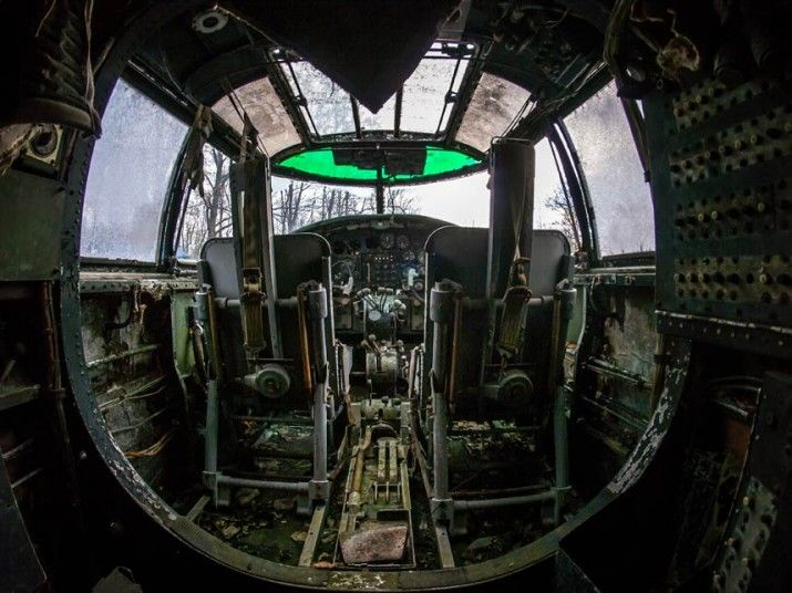 in pictures world war ii fighter aircraft rot in abandoned plane graveyard all that remains. Black Bedroom Furniture Sets. Home Design Ideas