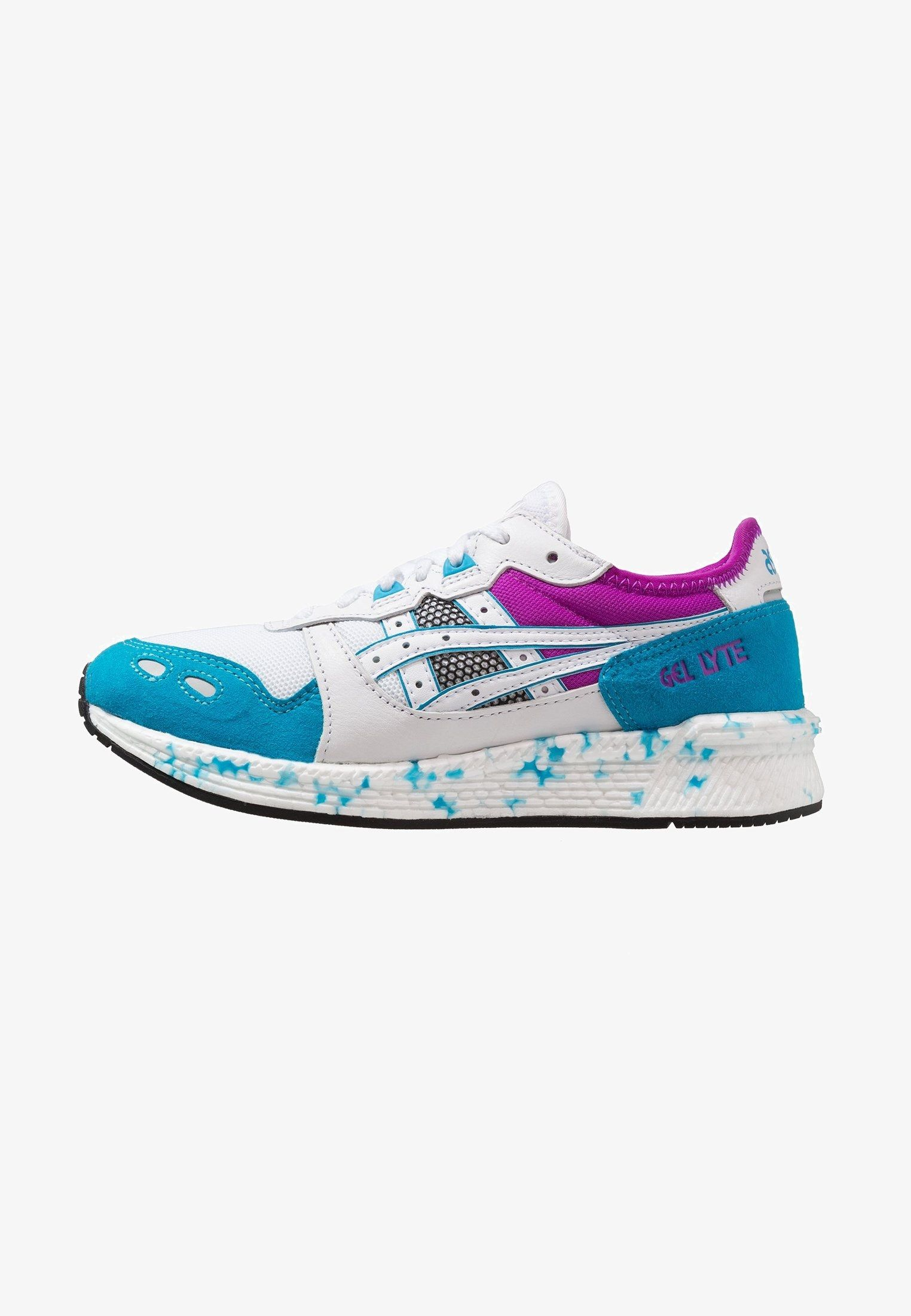 Asics Tiger HYPERGEL-LYTE - Sneaker low - real white/island ...