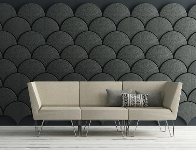 modern wall design with colorful and decorative modular wall panels - Decorative Wall Panels Design