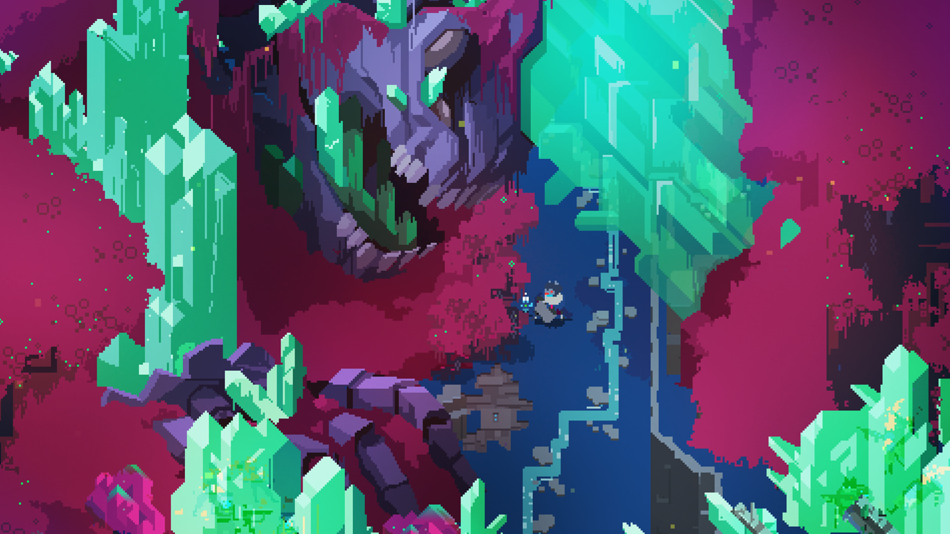 Pin By Tonid Game On Pixelart Pixel Art Hyper Light Drifter Wallpaper Wallpaper Backgrounds