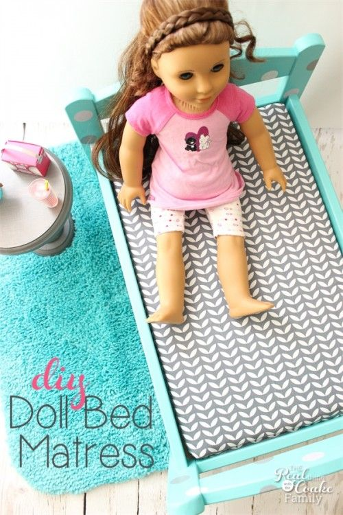 How To Make A Mattress For Any Doll Bed Share Todays Craft And