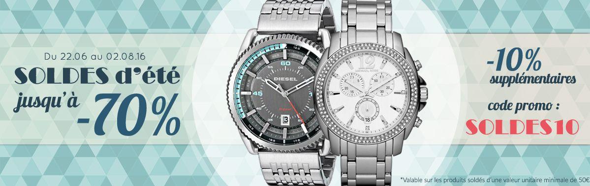 La fin des soldes d'été approche: profitez donc de -10% supplémentaires sur nos montres et accessoires de marque.   Voir notre page soldes: https://www.chic-time.fr/73-soldes-montres