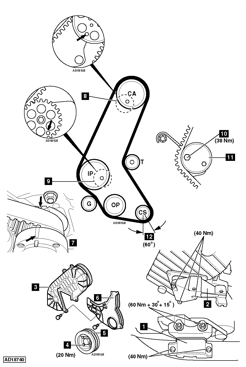 hight resolution of vauxhall timing belt wiring diagram centrehow to replace timing belt on vauxhall opel combo c 1