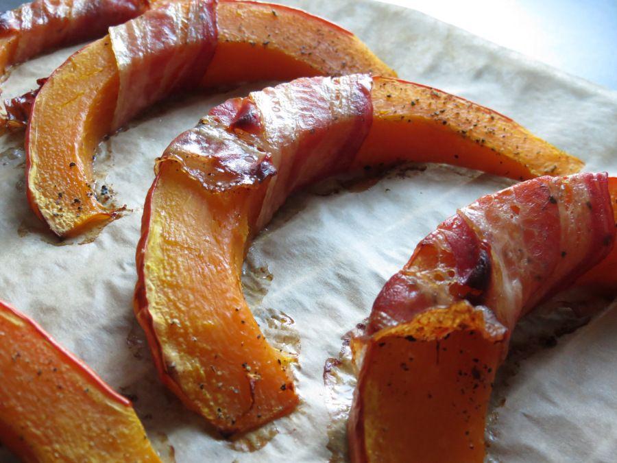 Bacon-Kürbisspalten - howegethealthy.com