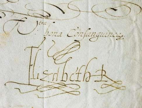 elizabeth i love letters