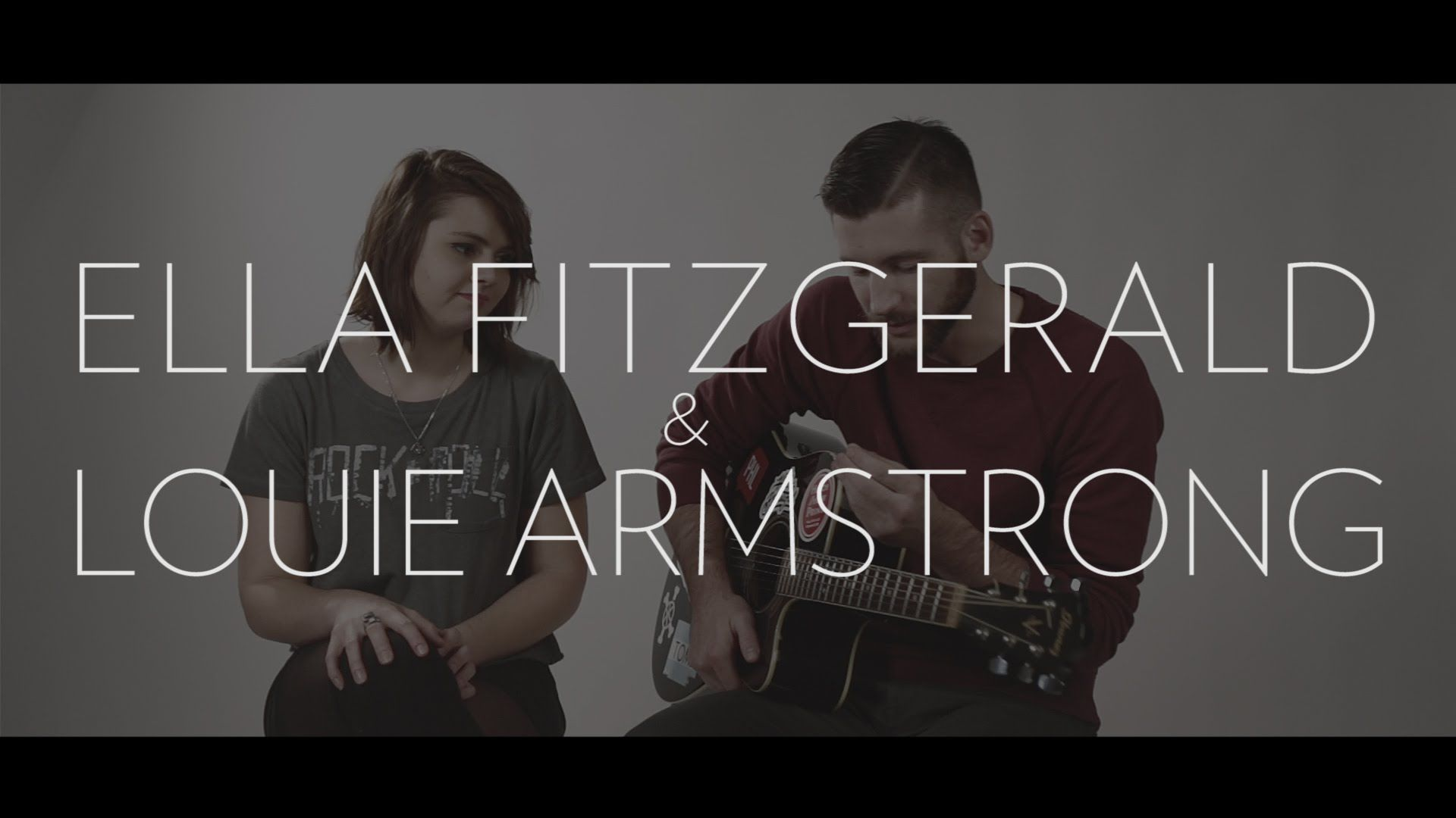 Ella Fitzgerald Louis Armstrong Dream A Little Dream Of Me Cover By Josh Schott And Emma Bedlin Ella Fitzgerald Louis Armstrong Armstrong