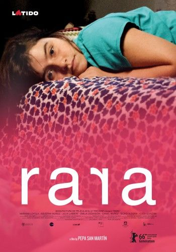 Rara by Pepa San Martín. #Berlinale2016 Generation Kplus.  Poster.
