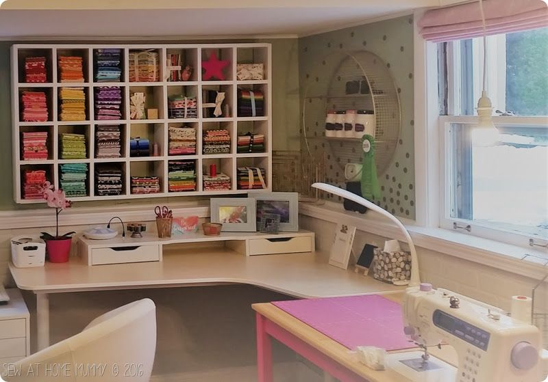 Gorgeous Sewing Room And Fabric Storage Ideas   Diy Sewing Machine Table  And How To Build
