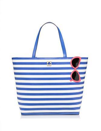 Kate Spade New York Make A Splash Rey Stripe Sungles Beach Tote