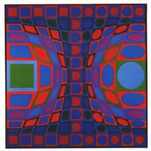Sinond - (Victor Vasarely)