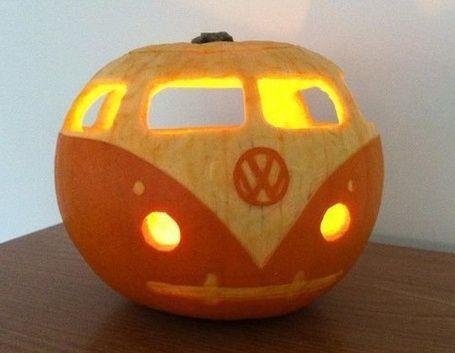 Volkswagen Pumpkin Carving Inspiration