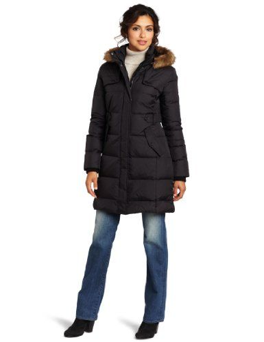 Tommy Hilfiger Women's Warm Down Filled Jacket http ...