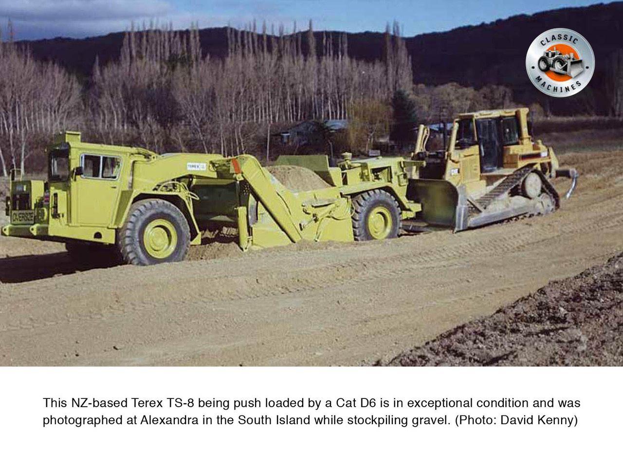 Classic Machines: The Terex TS-8 scraper | Heavy equipment | Heavy