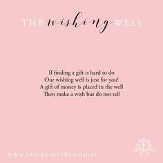 Wedding Wishing Well Poems Funny In 2020 Wishing Well Poems Wishing Well Wedding Monetary Gift Wording Wedding