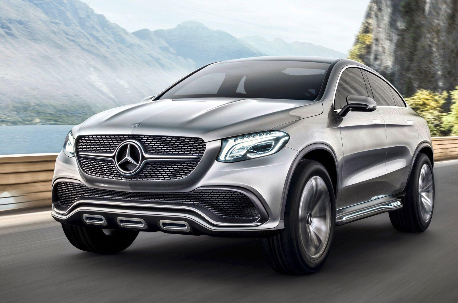 Mercedes Concept Coupe Suv Unveiled Autocar Mercedes Concept Mercedes Coupe Mercedes Benz Retail