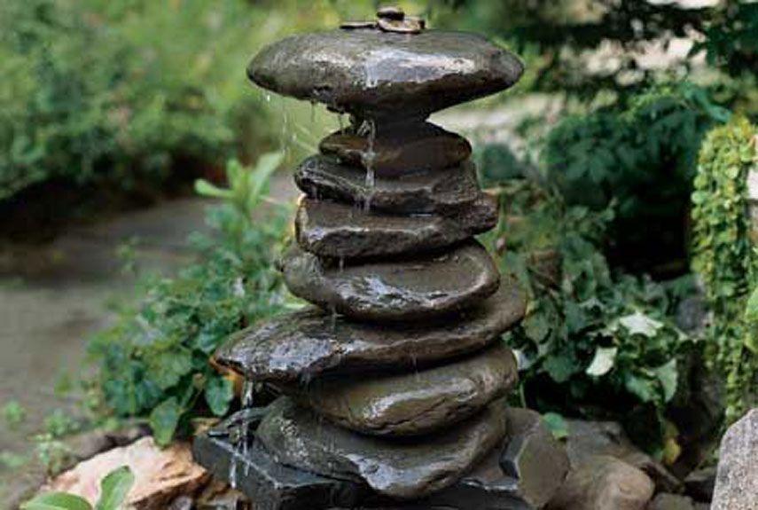 15 backyard fountains you can make yourself rock fountain 15 backyard fountains you can make yourself solutioingenieria Gallery
