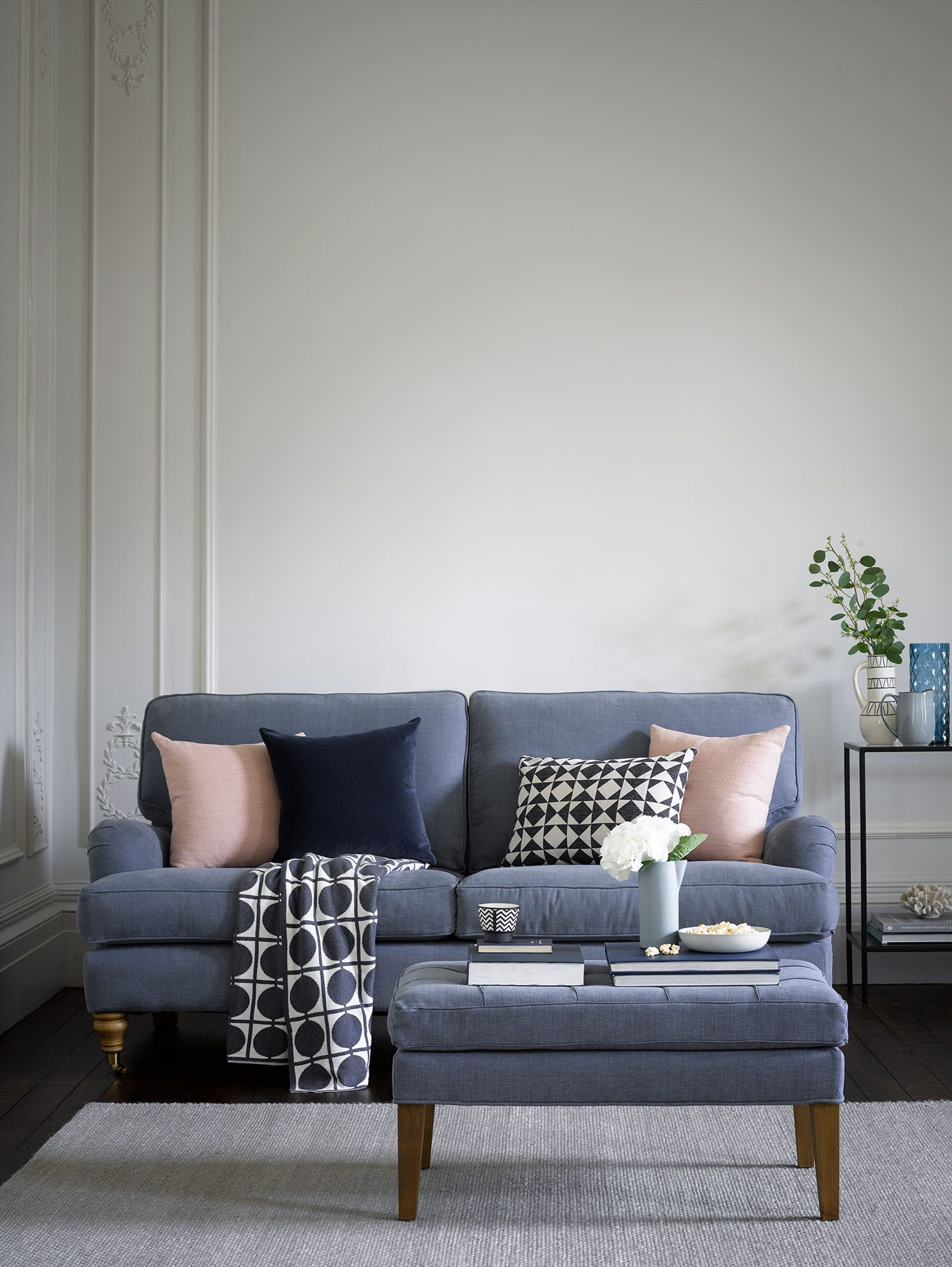 5d0b7ff3f99a Bluebell 2.5 Seat Sofa in Loch Brushed Linen Cotton in 2019