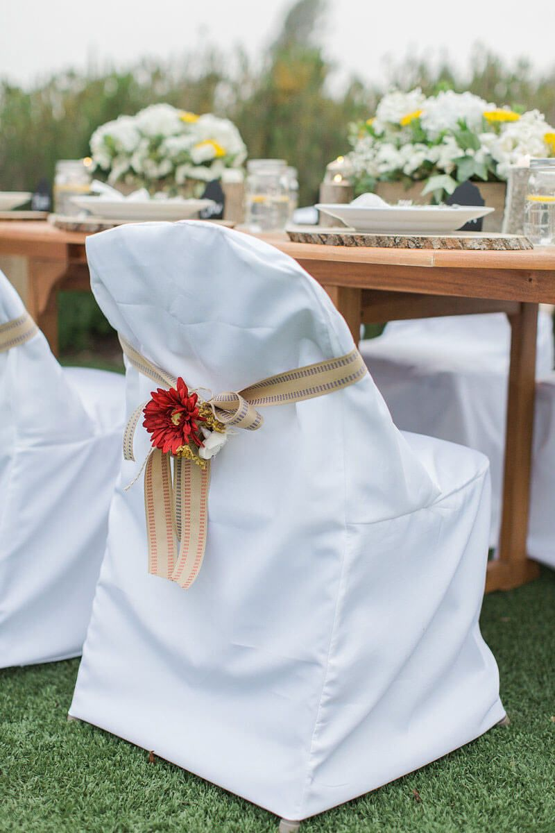 Richland Folding Chair Cover White Folding Chair Covers