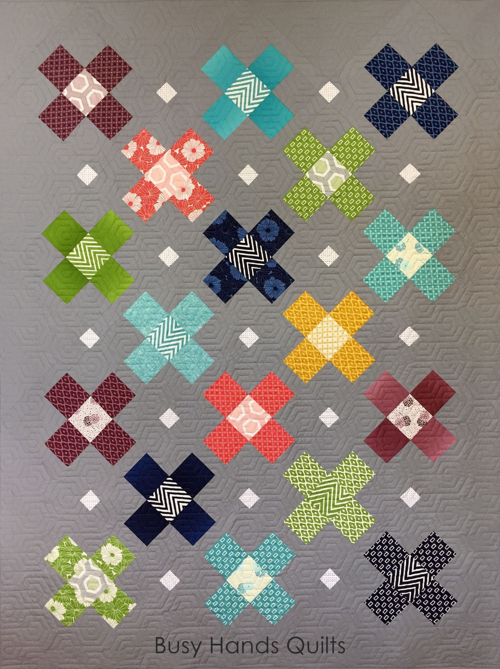 Hometown PDF Quilt Pattern in 4 Sizes Throw Twin Q