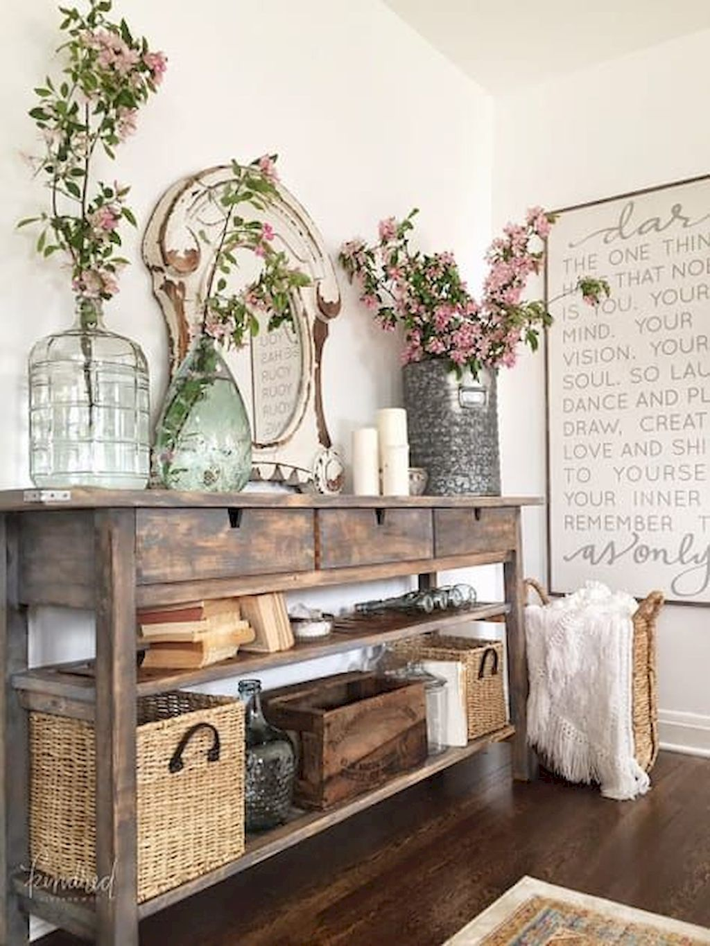 beautiful farmhouse entryway decorating ideas interior