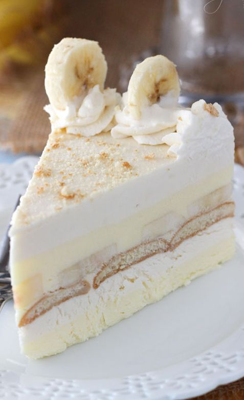 This Banana Pudding Icebox Cake is no bake, delicious and perfect for summer! It's a thicker, more fancy-looking version of banana pudding and it's the hubs' new favorite dessert.