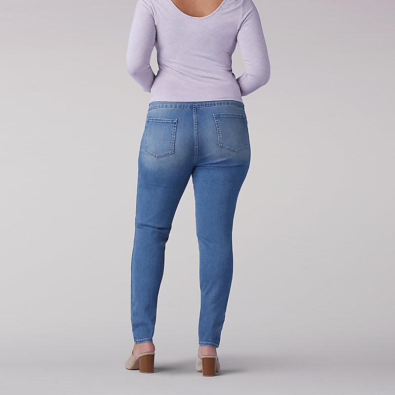 6ef2482c5d2 Lee Women s Sculpting Slim Fit Skinny Pull-On Jeans - Plus (Size 20W x M)