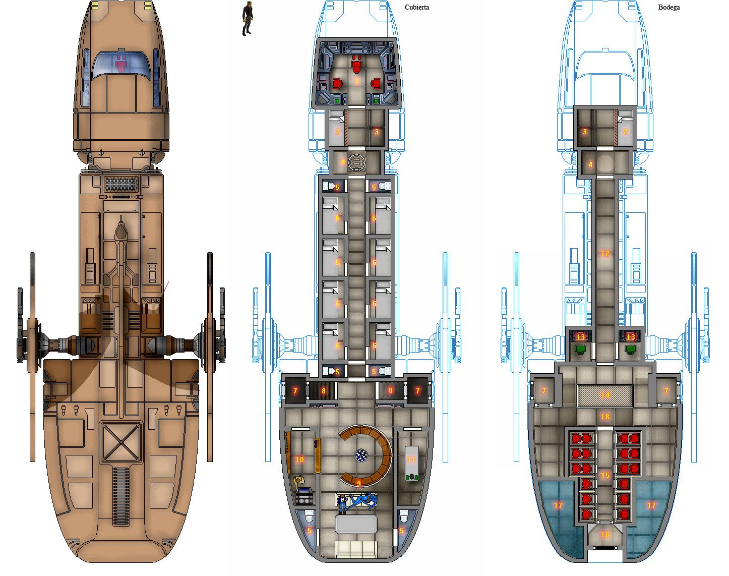 space container ship deck plan - photo #42