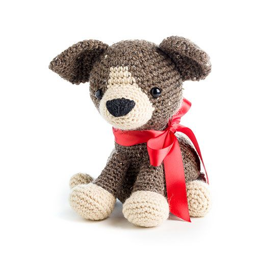 Scout the puppy, pattern in Zoomigurumi 5 - amigurumi pattern book ...