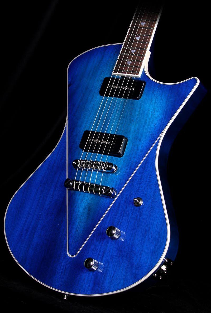 Music Man Armada MM90 in Balboa Blue Burst