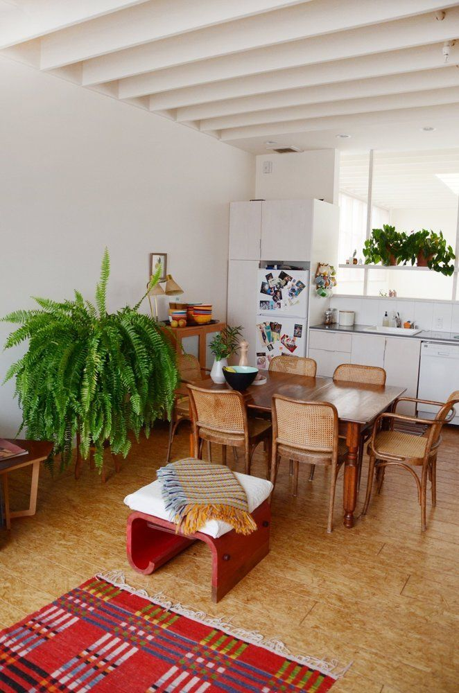 House Tour: A Resourceful Open-Plan Oakland Loft   Apartment Therapy