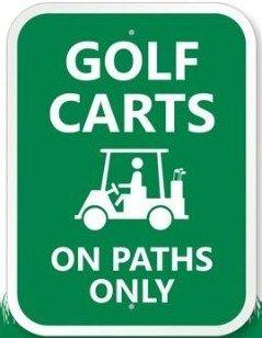 17+ Cart path only golf info