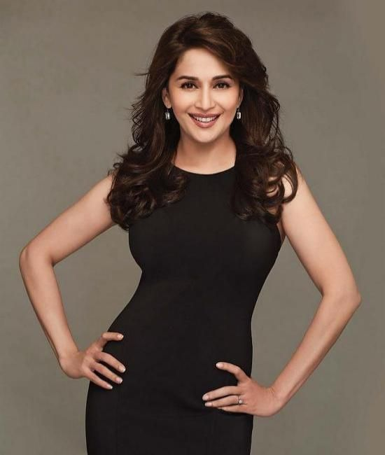 Madhuri Dixit Curly Hairstyle