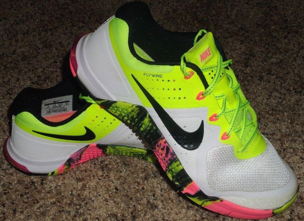 Nike Flyknit Zoom Agility Women US 7.5 Multi Color Running Shoe
