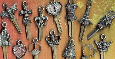 Decorative Key Blanks Key Blanks Key Design Unique Gifts