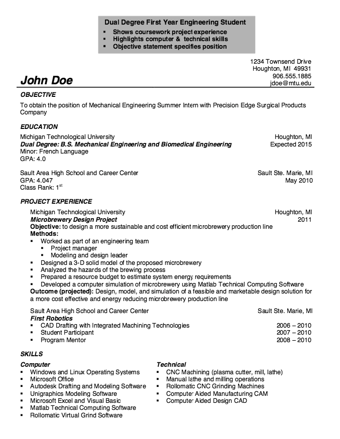 CNC Machine Operator Resume