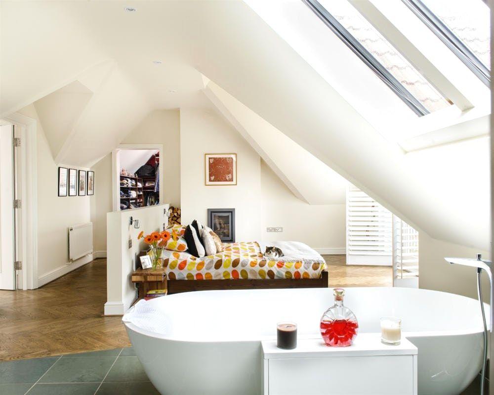 Ideen : Sch\u00f6nes Dachgeschoss Gestalten Moderne Deko