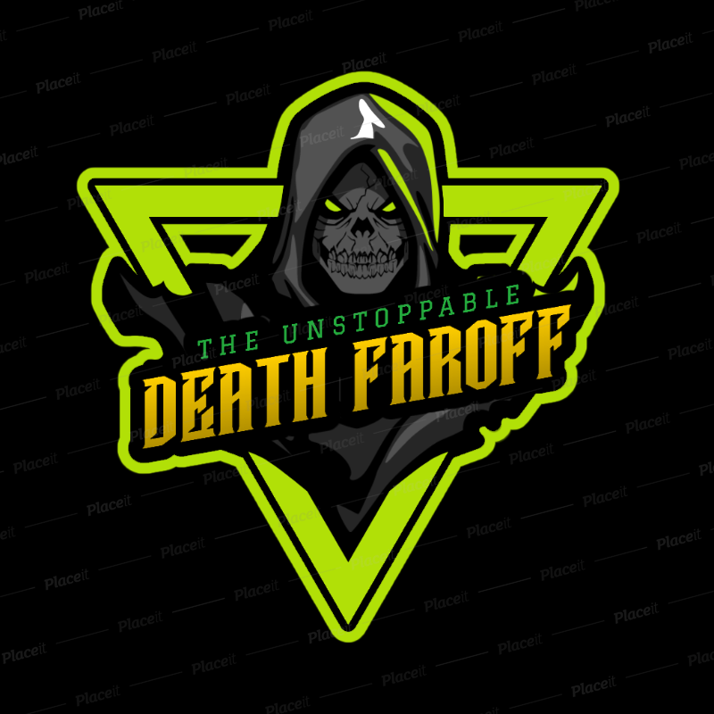Gaming Logo Maker for a FirstPerson Shooter Game Team