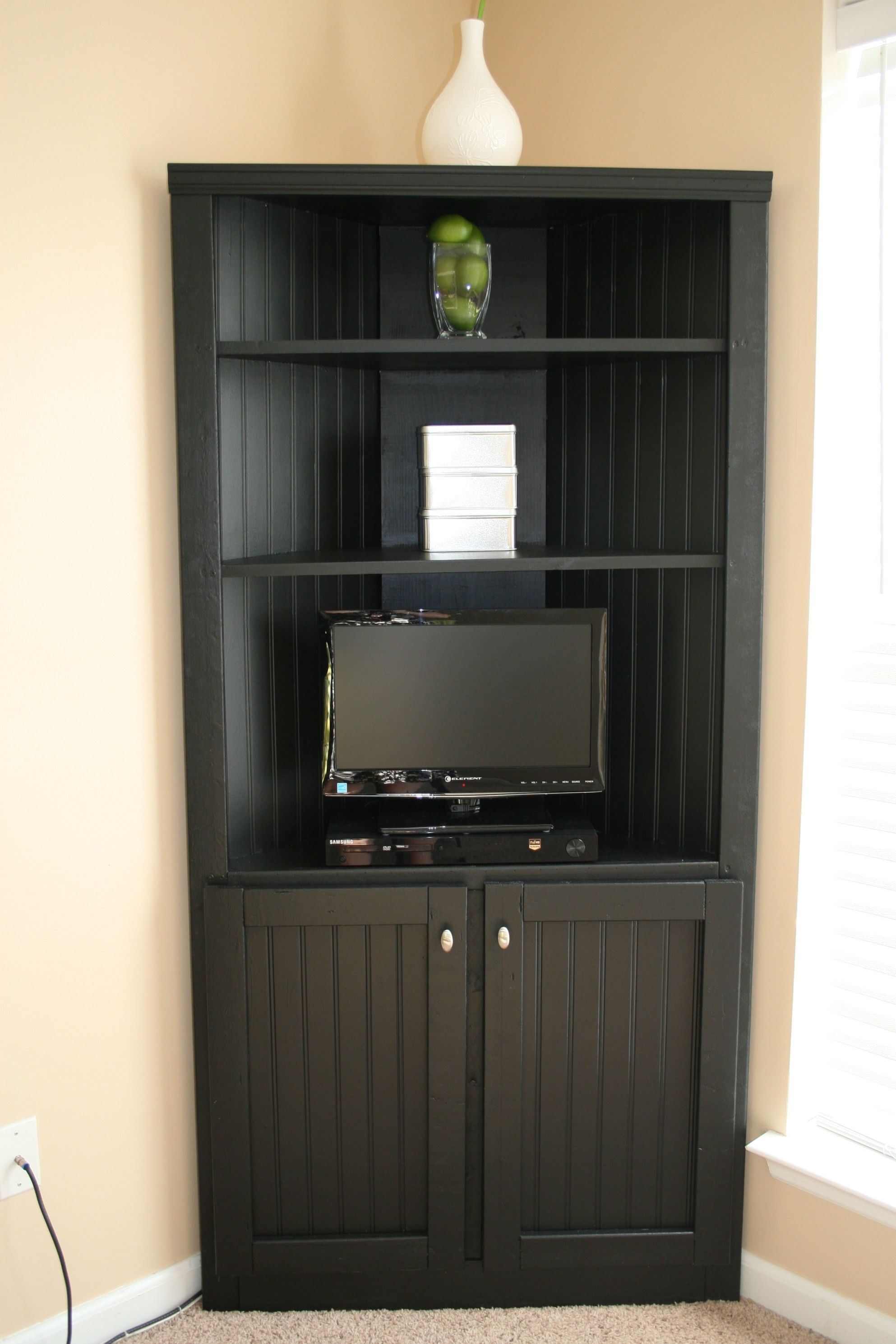 Corner Storage Cabinet For Living Room So That You Can Hide The Points Don T Want To See Everyday Or Would