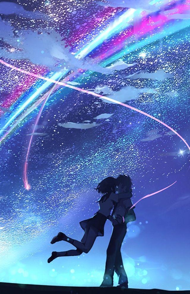 Pin De Sophie Em Your Name Filmes De Anime Animes Wallpapers Imagens Aleatorias Anime wallpaper your name